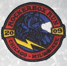 Rockerbox Run 2009 Patch - Chicago - Milwaukee