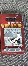 Pin Run Walt Disney World Wine & Dine 1/2 Half Marathon Weekend 2017 Event Logo