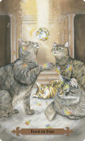 Mystical Cat Tarot Deck and Book Set by Lunaea Weatherstone and Mickie Mueller