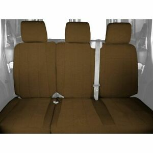 CalTrend SportsTex Rear Custom Seat Cover for Toyota 2011-2014 Sienna - TY439