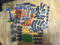 thomas tank engine trackmaster revolution track bundle accessories raisers x85