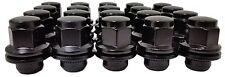 20 Pc BLACK TOYOTA MATRIX / RAV-4 FACTORY OEM TYPE SOLID LUG NUTS # AP-5307BK