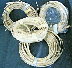 """Basket Weaving Reed 3/4"""" Flat 4 POUND LOT"""