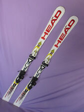 HEAD World Cup REBELS i.SL KERS 150cm race skis with Freeflex PRO 14 bindings  ~