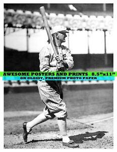 Extremely RARE Shoeless Joe Jackson Photograph 8.5x11 Reprint (50029)