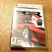 Project Gotham Racing 3 (Xbox 360) U.K. Pal. New Sealed. Pgr3.