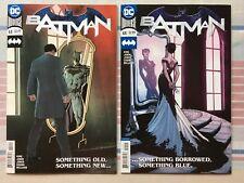 Batman #44 Variant & Cover A • NM • 2 Comic Set • 1st Prints • DC