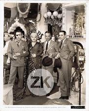 MAE WEST Klondike Annie RAOUL WALSH Walter WANGER G. RAFT Behind Scene Photo '35