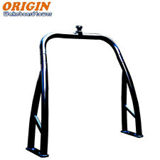 Origin Glossy Black Ski Tow Bar for Pontoon Boats Universal Ski Tow Pylon