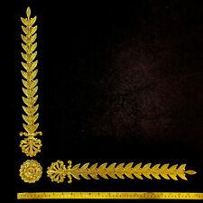 DECORATIVE MOULDING ANTIQUE NAPOLEON GOLD GILT WHITE WALL FURNITURE DECORATION