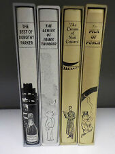 Pick Of Punch, Cream Of Noel Coward + 2 More (4 Books) - FOLIO SOCIETY (ID:630)