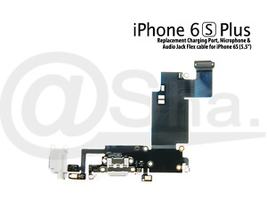 """Charging Dock Port & Mic & Headphone Jack Flex Cable For iPhone 6S Plus (5.5"""")"""
