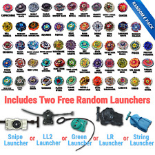 Beyblade Random 6 Pack Collection w/ 2 Free Random Bayblade Launcher US Shipped