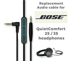Replacement Audio Cable Cord For Bose QuietComfort QC25 QC35 Headphones with MIC