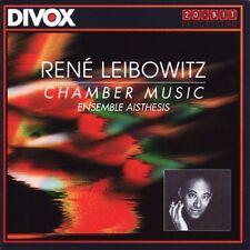 LEIBOWITZ : SONATE POUR FLUTE ET PIANO OP. 12B, 3 PIECES POUR PIANO, SERENADE...