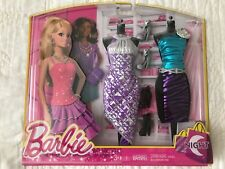 NEW BARBIE  Life in the Dreamhouse DOLL GLiTTER Glam Fashion Night Look LOT