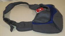 YODODO Pet Dog Sling Carrier Breathable Mesh Travel Safe Sling Bag Carrier Blue