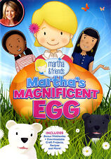 Martha & Friends: Martha's Magnificent Egg (DVD) **New**