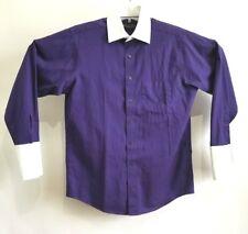 DONALD J.TRUMP Mens Signature Collection Dress Shirt 15.5 - 32/33 French Cuff