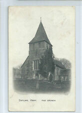 Maidstone Posted Single Printed Collectable Kent Postcards
