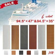 Marine Flooring Faux Teak EVA Foam Boat Decking Sheet 35X95''/47X95''