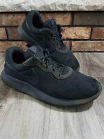 Nike Air Swoosh Tanjun Black Running Walking Gym Shoes Mens Size 12 812654-001