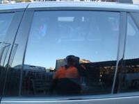 BMW X5 LEFT REAR DOOR WINDOW / GLASS E53, SINGLE GLAZE, 11/00-12/06