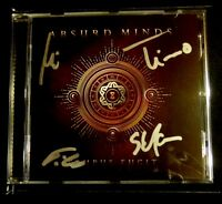 ABSURD MINDS Tempus Fugit - CD - 2nd Edition / Signed / Signiert