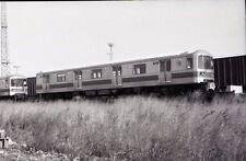 MTA New York City Light Rail / Subway Car #502 - Orig 35mm Railroad Negative