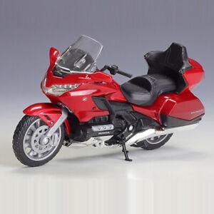 1:18 2020 Honda Gold Wing Tour Motorcycle Model Diecast Motorbike Toy Kids Gift