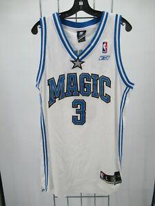 H2980 Reebok Orlando Magic Francis 3 NBA-Basketball Jersey Size L