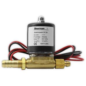 Gas Magnetventil VZCT 6.5FS 24V DC für MIG/MAG WIG/TIG Schweißmaschinen