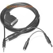 AMSTRAD CPC 464 / 664 / 6128 RGB STEREO SCART LEAD / CABLE - 2 METRES