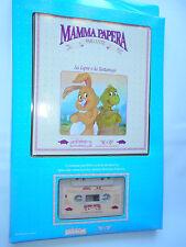 LA LEPRE E LA TARTARUGA MAMMA PAPERA LIBRO+CASSETTA World of Wonder  1986
