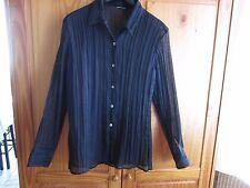 Belle chemise noire,taille 38/ 40