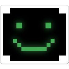 "Cyber Smile Black Green car bumper sticker decal 5"" x 4"""