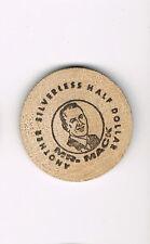 Wooden Nickel Worth 50 Cents at Mr. Mack's Hamburgers