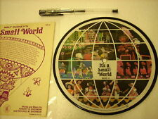 "a941981 Disney Picture 7"" It's a Small World"