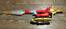 Bandai 2013 Power Rangers Megaforce Spinning Deluxe Ultra Dragon Red Sword 23.5""