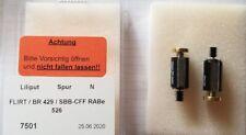 SB 7501 Motorisierungssatz für Liliput FLIRT / BR 429 / SBB-CFF RABe 526 Spur N