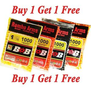 Airsoft Gun Bullets 1000pcs 0.12 Gram 6 mm BB's Pellets Ammo Buy 1 Get 1 Free