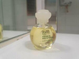The bodyshop perfume oil JAPANESE MUSK WHITE CAP 15ML