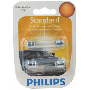 Philips License Plate Light Bulb for Renault R18 R18i 1981-1986 Electrical se