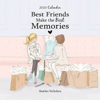 Best Friends Make The Best Memories Blue Mountain Arts 2020 Mini Calendar