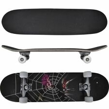 Complete Longboard Wheels Skateboard 79cm 9 Ply Maply Cruiser Deck Sector Black