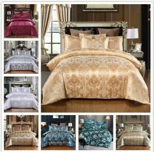 3PC King Quilt Blanket Blanket Pillow Cases 100% Silk Mulberry Duvet Cover UK