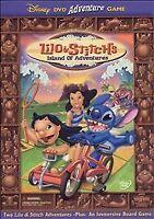 Brand New Lilo & Stitch's Island of Adventures (DVD / HD Video Game, 2003)