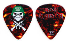 Iron Maiden Janick Gers Trooper Gers Concert-Used Guitar Pick - 2006-2007 Tour