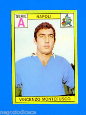 New CALCIATORI PANINI 1968-69-Figurina-Sticker - MONTEFUSCO - NAPOLI - Nuova