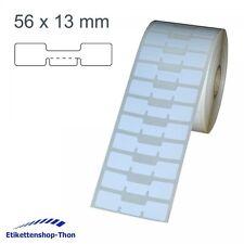 Schmucketiketten / Juwelieretiketten auf Rolle - 56 x 13 mm - 2.500 Stück